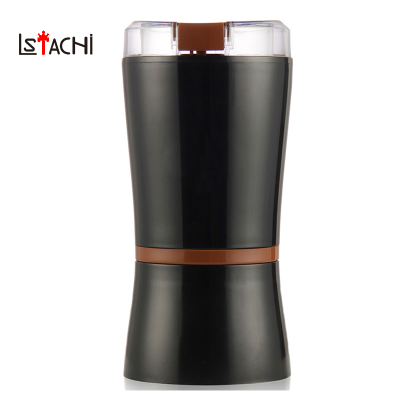 LSTACHi Portable Electric Coffee Grinder Machine Household Grinder Coffee Machine Bean Grinding Miller Stainless Steel Grinder electric coffee grinder machine coffee maker portable automatic muilt function coffee bean grinder beans household