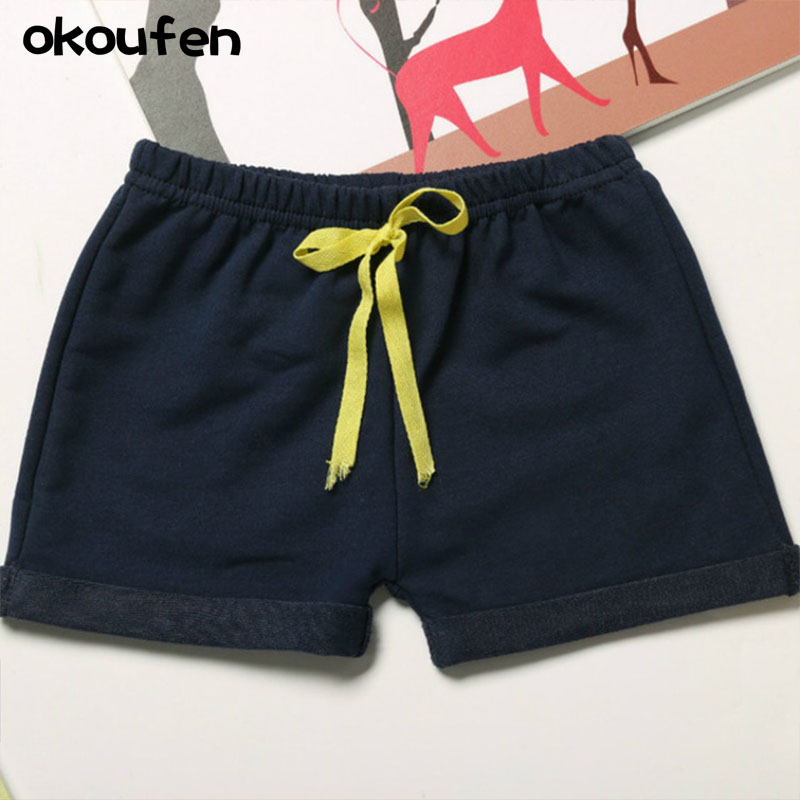 okoufen 2018 new baby boy and girl summer shorts brand quality baby kids shorts