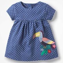 2018 neue Baby Mädchen Kleidung Kinder Abendkleider Stickerei Kinder Marke Mädchen Kleid Infant Vestidos Kleinkind Süße Kleidung