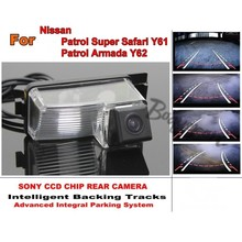 Para Nissan Patrol Súper Safari Y61/Patrulla Armada Y62 HD Pistas de Acompañamiento Chip CCD Cámara de Visión Trasera de Aparcamiento Japón Visión Nocturna
