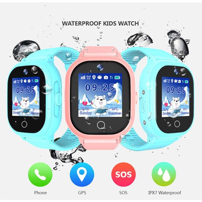 Traqueur GPS enfant OLED TD-06 s SOS surveillance intelligente Anti-perte de positionnement téléphone enfants regarder montre bébé en toute sécurité - 6