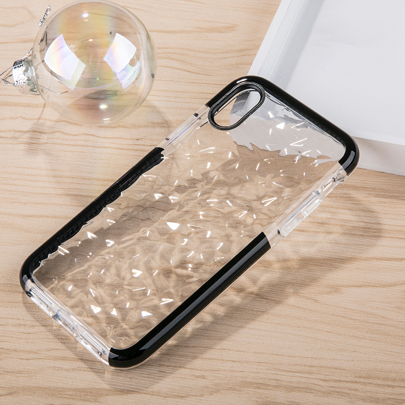 Suntaiho for iPhone X XR case Soft TPU Marble Phone Case for iPhone 6s 7 plus 8 XS Max TPU Diamond pattern Shell Pattern Cases