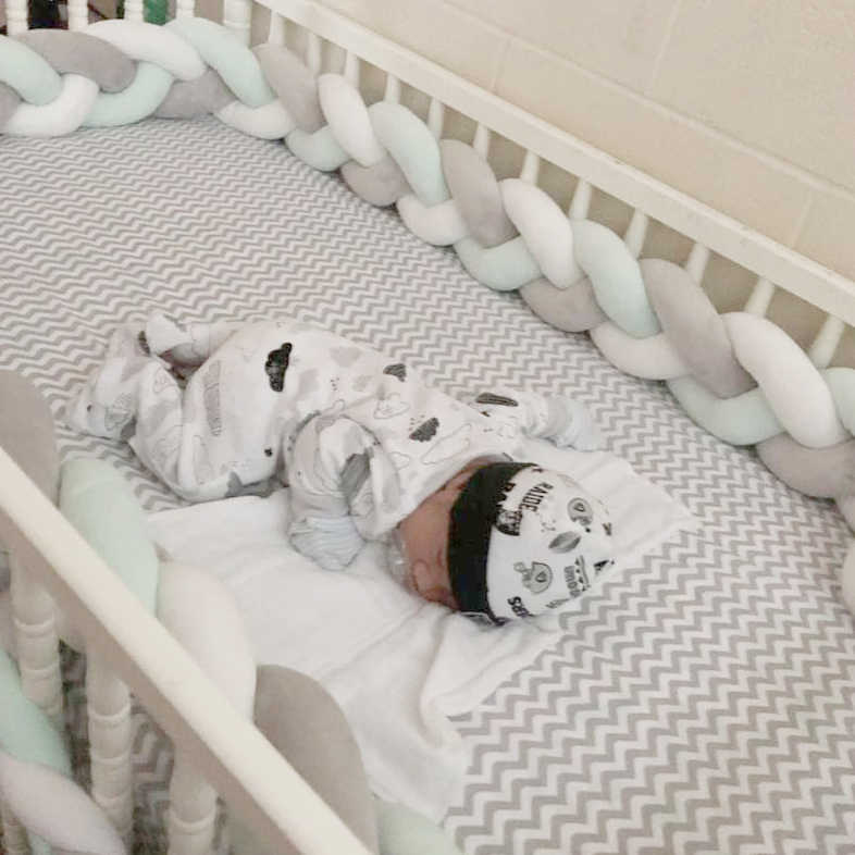 Detail Feedback Questions about Newborn Baby Bed Bumper Protector ...