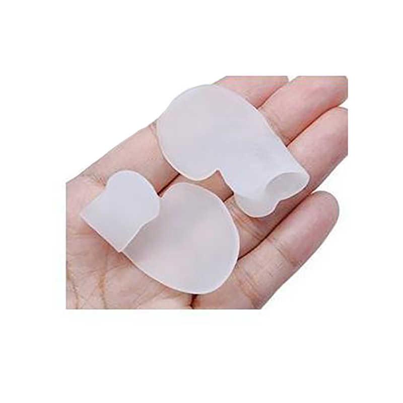 1 par Hallux Valgus Protector de silicona plantilla Gel dedos del dedo del pie separador Bunion Toe Corrector divisor pulgar Valgus cuidado de los pies