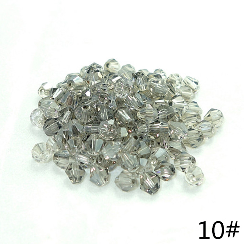 Wholesale  lot  200pcs bicone crystal glass 5301# loose spacer Beads  3mm  DIY