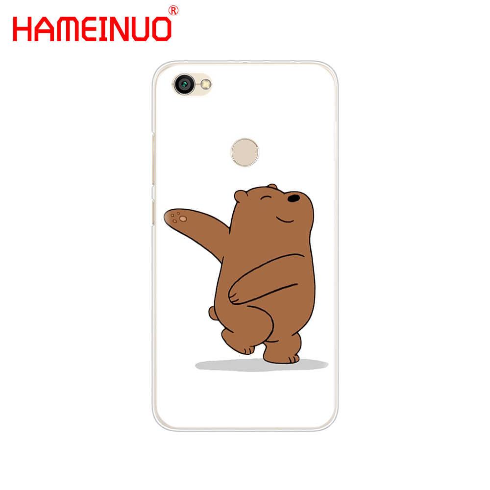 HAMEINUO Мы Голый лед медведь панда стиль чехол для телефона для Xiaomi redmi 5 4 1 1s 2 3 3s pro PLUS redmi note 4 4X 4A 5A
