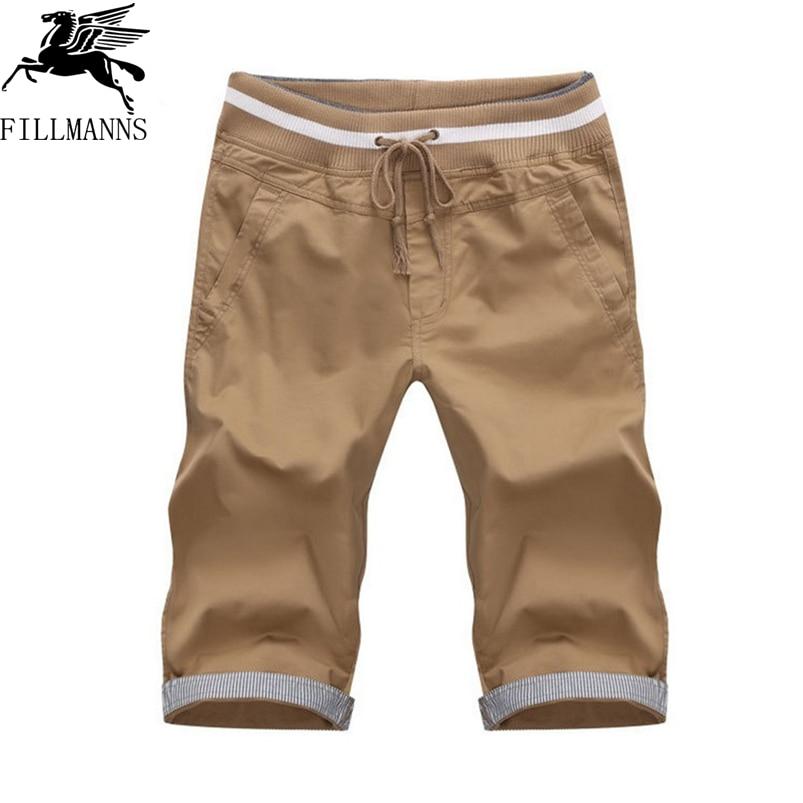 Online Get Cheap Mens Cotton Shorts Elastic Waist -Aliexpress.com ...