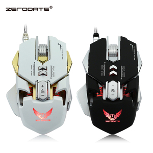 Image 1 - ZERODATE  3200DPI USB Wired Competitive Gaming Mouse  7 Programmable Buttons Mechanical Macro Definition Programming Game Mice