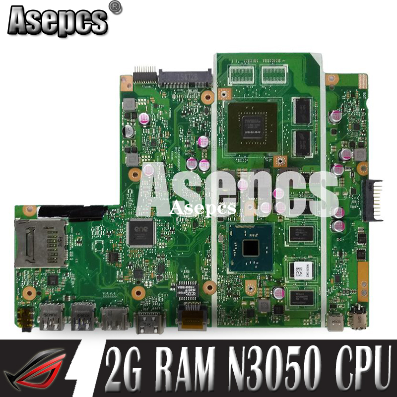 Asepcs X540SC Laptop <font><b>motherboard</b></font> for <font><b>ASUS</b></font> X540SC X540S <font><b>X540</b></font> Test original mainboard 2G RAM N3050 CPU image