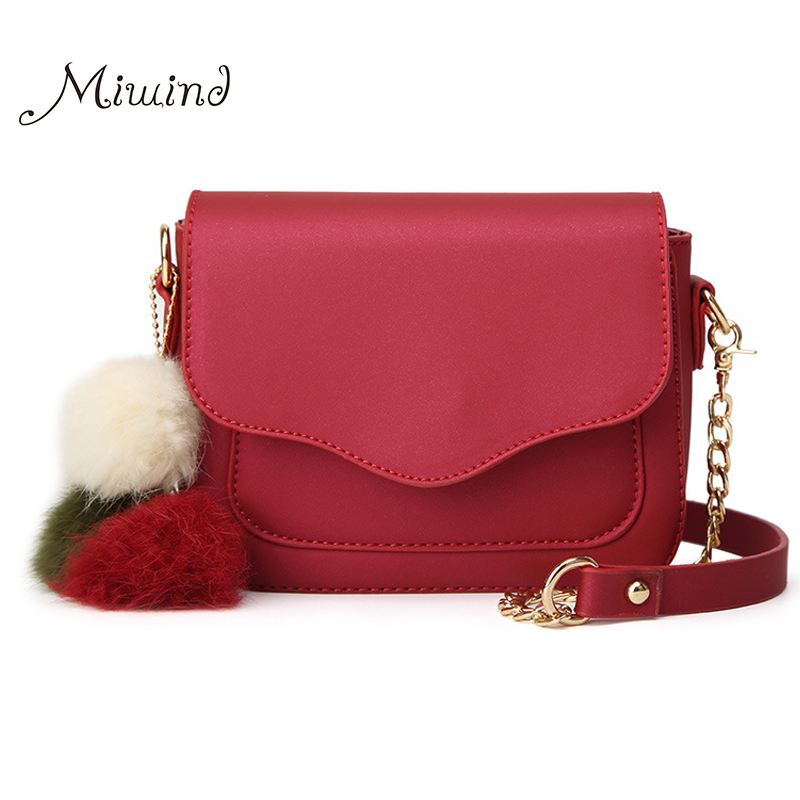 Women Bag Leather Over Shoulder Handbags Sling Messenger Crossbody Flap Small Chain Fringe Tassel 2017 Fashion Red Mini Bags shoulder messenger mini candy bag small square package 2017 summer fashion handbags women messenger bags tide packet chain bag