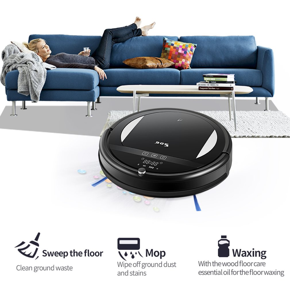 SDG Intelligent Robot Vacuum Cleaner for Fuzzy & Spot & Edge Cleaning Support Auto Cleaning & Mopping & Vacuuming S018 fuzzy logic and neuro fuzzy algorithms for air conditioning system