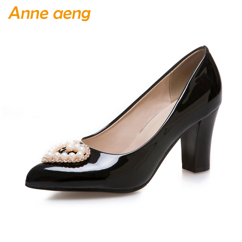 women pumps high heels pointed toe pearls heart shape classic elegant office lady pumps red black women shoes big size 34-46 morazora pointed toe elegant party shoes shallow women pumps office lady big size 32 43 thin high heels shoes 9cm solid