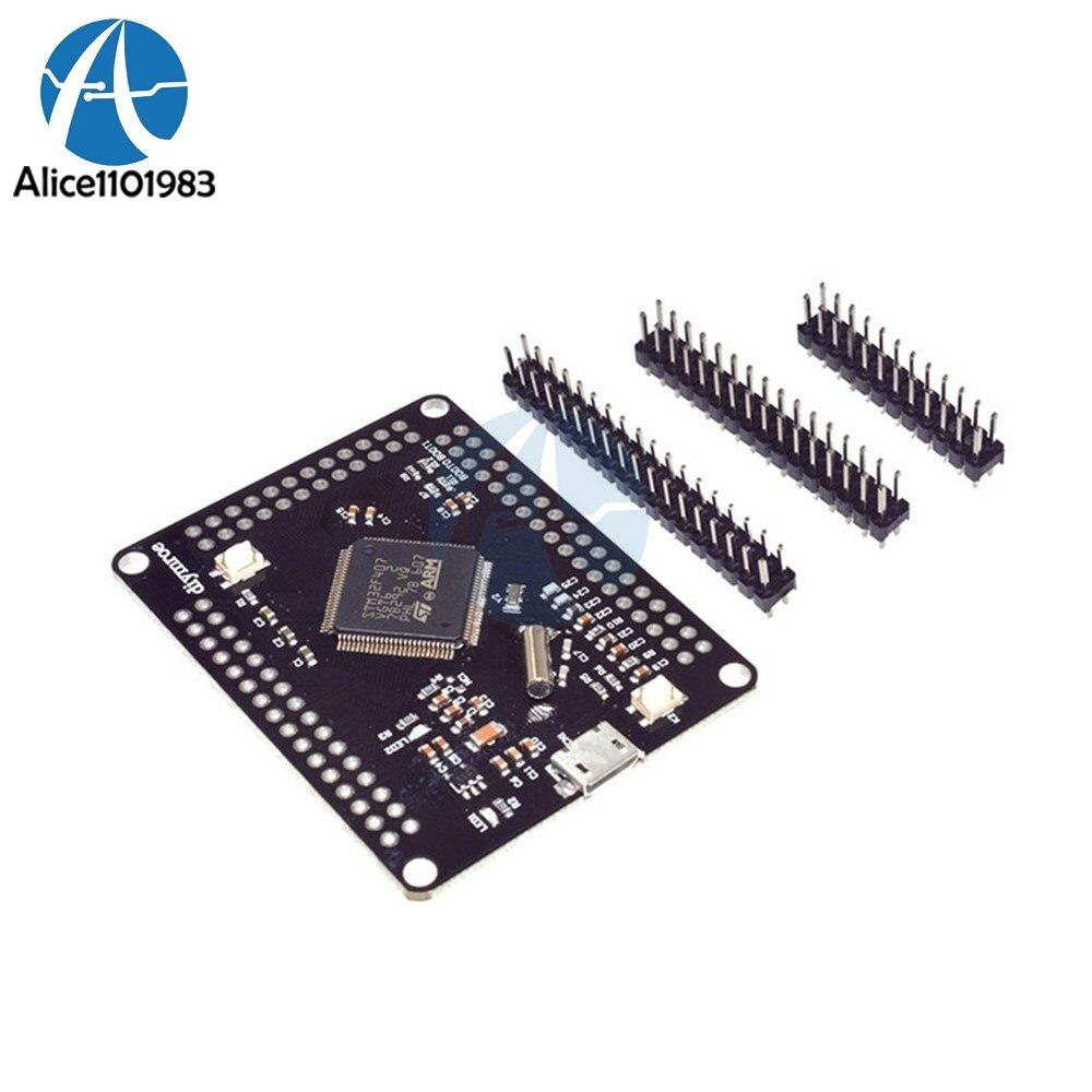 Stm32f4discovery Stm32f407vgt6 Arm Cortex M4 32bit Mcu Core Digital Power Control 32 Bit Development Board Spi I2c Iic Uart Isc