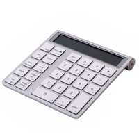 1pcs Function 2 In 1 Ultra Thin Bluetooth Numeric Keyboard Bluetooth 3 0 Calculator For Laptop