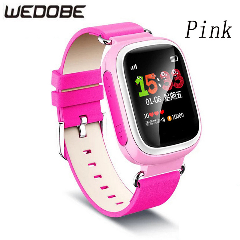 Child GPS Smart Watch WEBOBE-C-Q90 With Touch Screen Children Smartwatch SOS Call Location For Kid Safe Anti-Lost Monitor