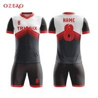 Own Pattern Design No Logo European Football Shirt