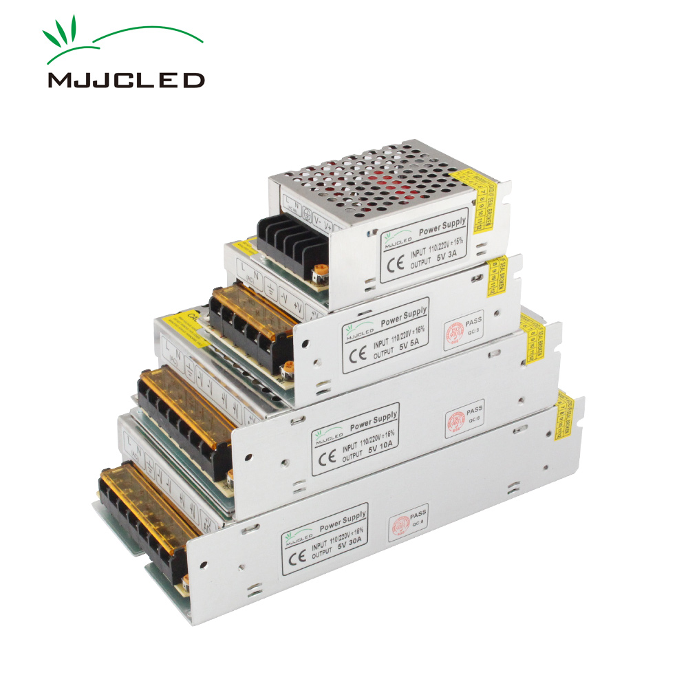 5 Volt Power Supply 5V 5A 10A 20A 30A 40A 60A 70A 110V AC DC 220V to 5V Transformer 5 Volts Power Supply Unit for LED Strip ms 75 5 75w mean well type led power supply 5v 10a transformer 110v 220v ac dc output