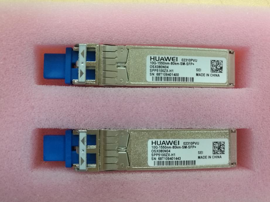 SFP+ 10G-1550NM-80KM-SM 02310PVT Single Mode Dual Fiber Module