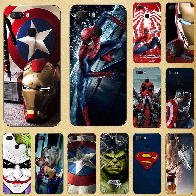 Super Hero Phone Case Cover For <font><b>Lenovo</b></font> S580 S650 S660 S820 S850 S856 S860 S890 S898 S90 S920 <font><b>S960</b></font> Soft Silicone Back cover image
