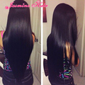 Cheapest 8A Indian unprocessed 200% density full lace human hair wigs glueless lace frontal wigs nature hairline top sell