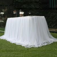 Яркие цвета, Свадебные вуали, скатерть, скатерть, юбка-пачка, тюль, вечерние скатерти, текстильные украшения для дома, на открытом воздухе