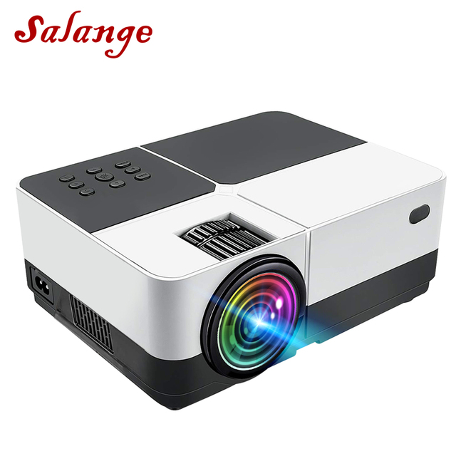 H2 Mini Projector Led Home Theater Full HD LED Projector Mini Projetor Proyector 800x480 Movie Cinema USB HDMI Beamer