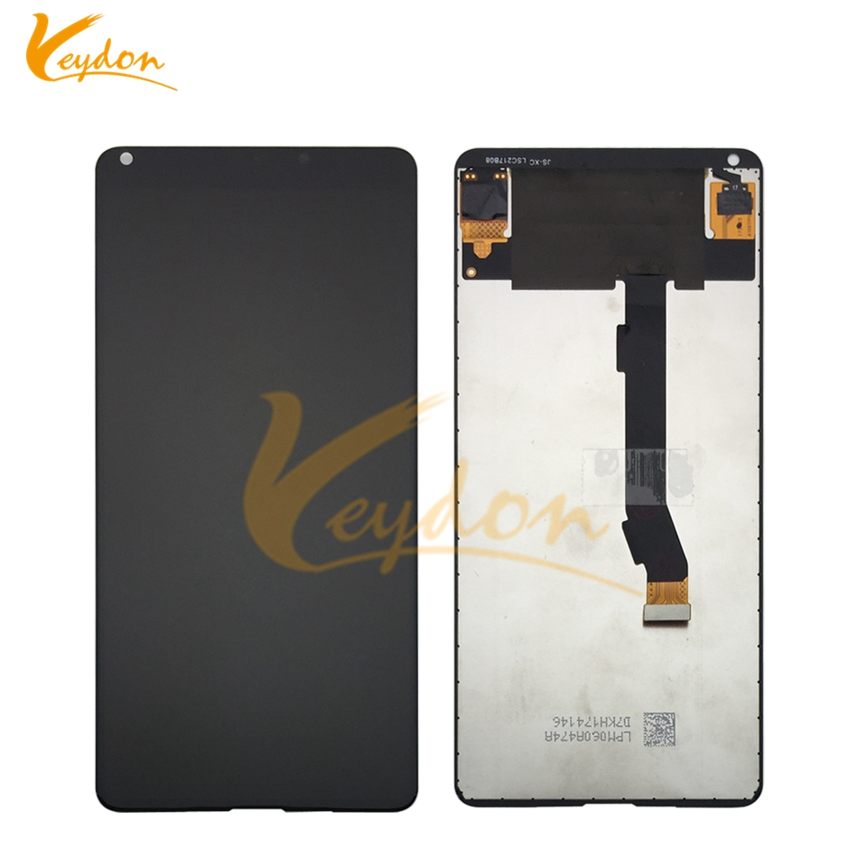 Mobile Phone Parts In Stock Black Front Lcd For Yotaphone 2 Yd201 Yd206 Lcd Display Digitizer Touch Screen Assemblely With Frame Smart Phone Bright In Colour Cellphones & Telecommunications