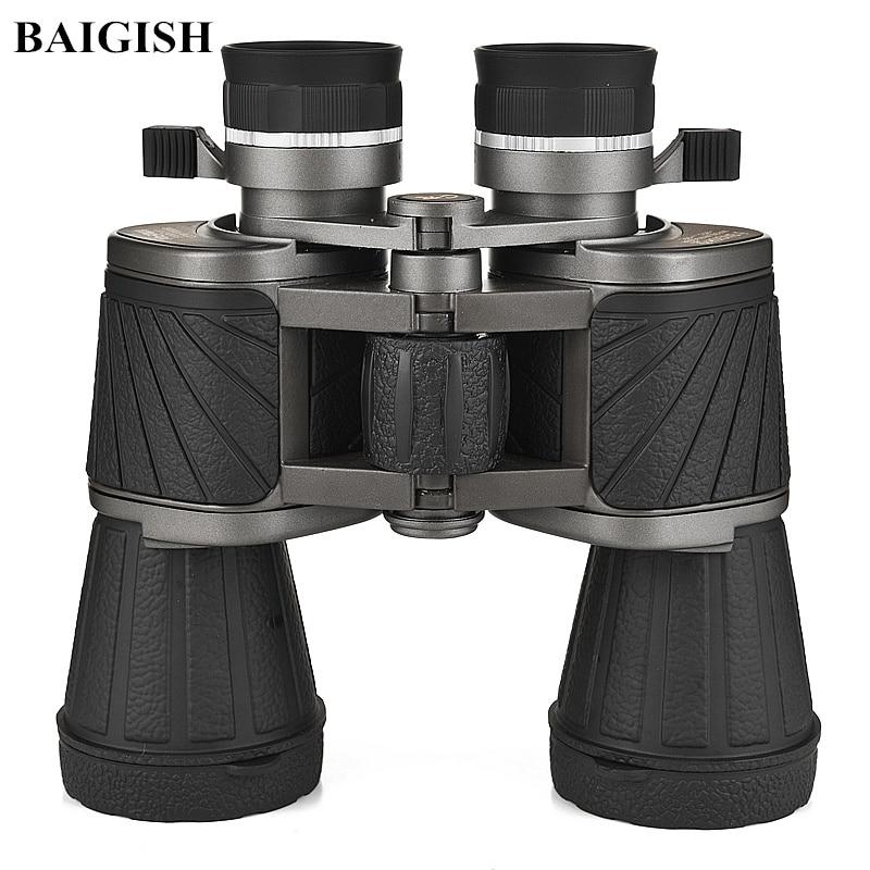 Original Baigish 10X50 Binoculars Professional Telescope Hd Eyepiece Quality Russian Military binocular Lll Night Vision Hunting