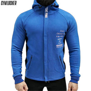 57e50c18c84 GYMAHXUN new Autumn winter men Hot sale Casual zipper hoodie sweatshirt  men s gyms bodybuilding slim fit cotton male clothing