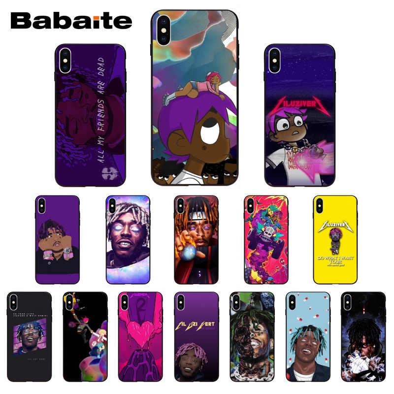 Lil Uzi Vert Eternal Atake Rapper Soft Silicone Cover Phone Case