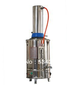 10L Stainless Steel Water Distiller With Power off automatically When Lack of Water цена