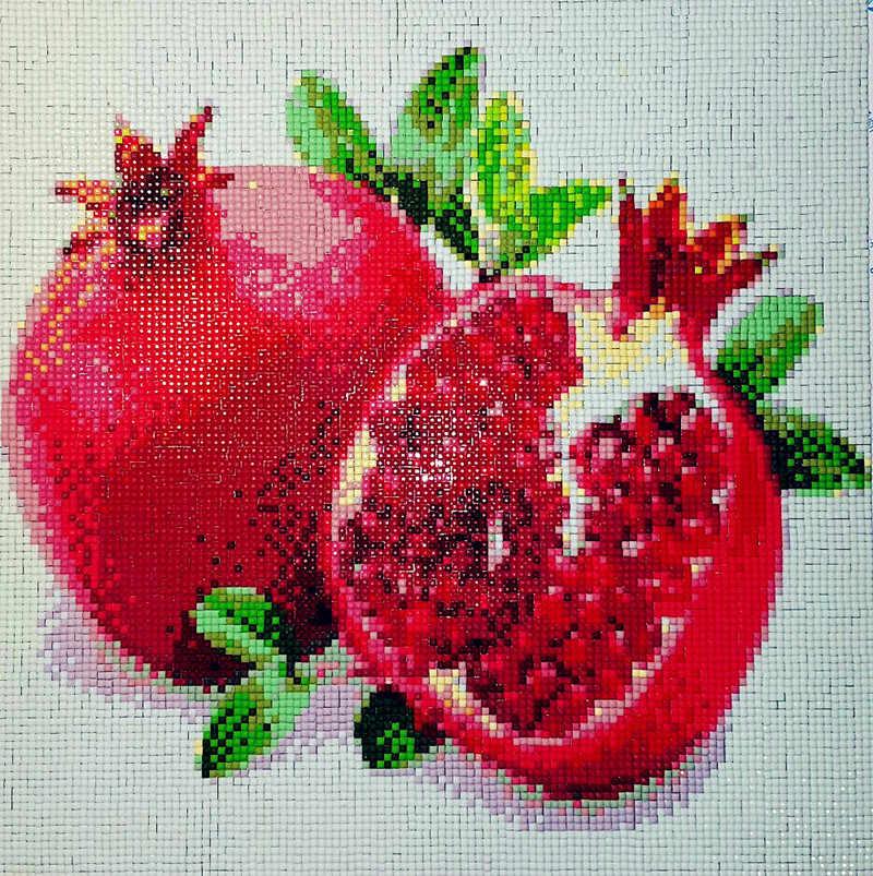 5d sơn kim cương Hoa poppy đầy đủ khoan kim cương vuông thêu Cross stitch thạch trang trí Đám Cưới