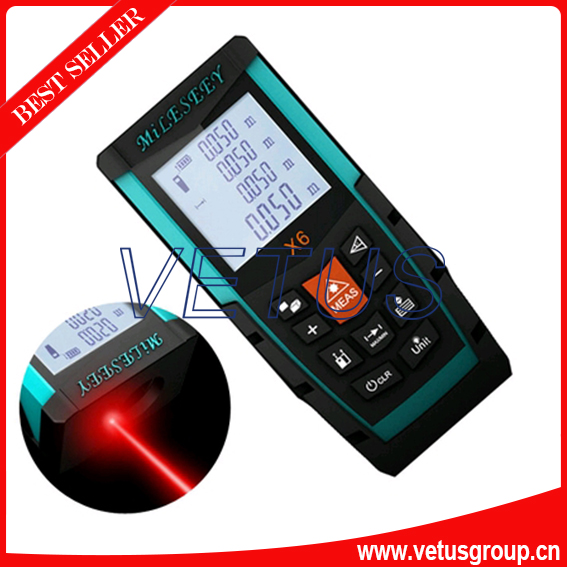 X6 100M cheap laser distance meter prices with backlight illumination ht 305 ht305 digital laser distance meter prices