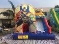 2016 new Factory direct Inflatable Slides, Spiderman Castle, Batman Slide Barrier KY-136