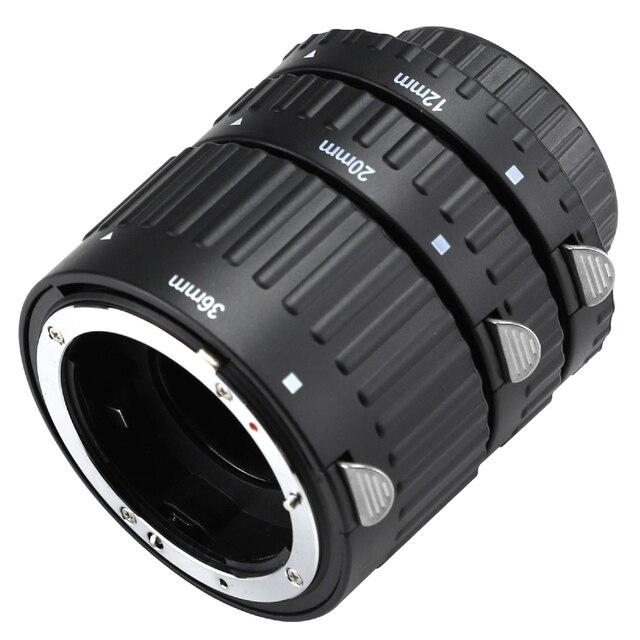 Auto Focus Macro Extension Tube Set for Nikon AF AF-S DX FX SLR d3300 d3200 d5200 d7100 d5300 d7200 d7000 d3100 d90 d5100 d5500