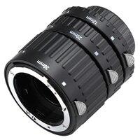Black Mcoplus Extnp Auto Focus Macro Extension Tube Set For Nikon AF AF S DX FX