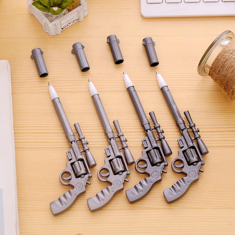 Ballpoint Pens 4pcs Novelty Pens Gun Shape Ballpoint Stationery Pen