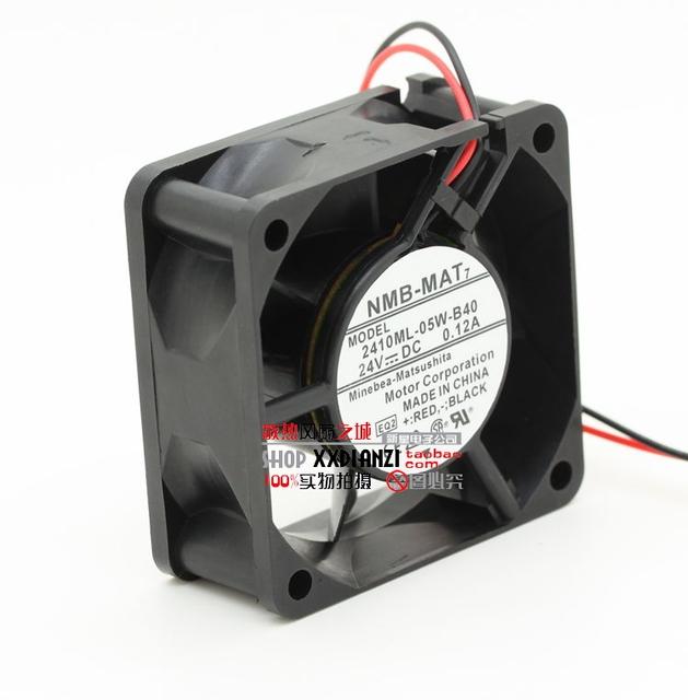 Novo 6025 0.12A 2410ML-05W-B40 24 V de dois fios inversor ventilador de refrigeração