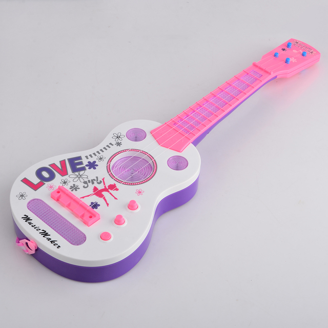 4 String Flash Mini Guitar