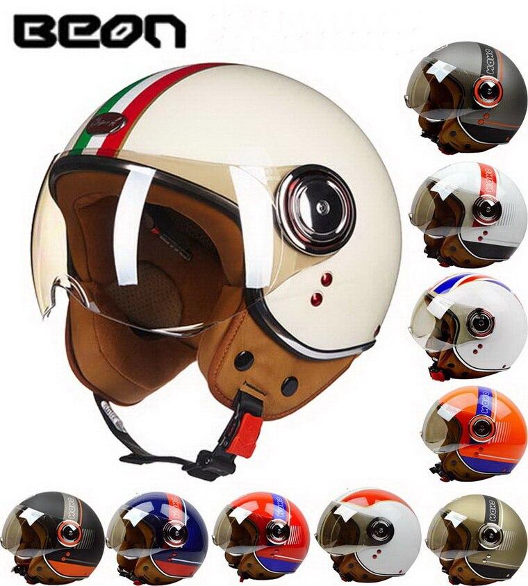 ЕЭК классический БЕОН Б-110Б мотокросс половина шлем мотоцикла мото электрический велосипед безопасности головной убор шлем Размер M L ХL