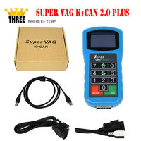 Latest product VAG Diagnostic Super Vag K+Can 2.0 plus , super vag k can 2.0 plus scanner tool with free china post shipping