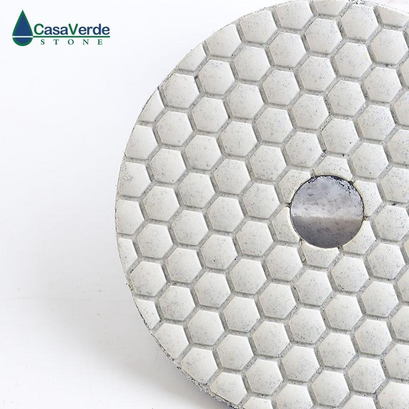 Tamponi per lucidatura a secco con diamante al granito da 400 # 4 - Utensili elettrici - Fotografia 3