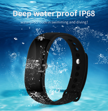 Smartch IP68 Водонепроницаемый v66 сердечного ритма Мониторы смарт-браслет Приборы для измерения артериального давления анти-потерянный сидячий напомнить Браслет smartwatch