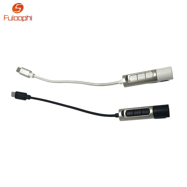 Nova 2em1 Áudio do Fone De Ouvido & Adaptador de Carregador de Cabo Para Relâmpago a 3.5mm para fone de ouvido adaptador de fone de ouvido para iphone 7 iphone 7 além de