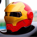DOT Approved 100% Original Brand Masei 610 Ironman Motorcycle Skull Open Face Helmet Casco Capacete Flip Up Motorcycle Helmets