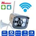 Câmera ip 1080 p wi-fi sistema de segurança cctv à prova d' água ip66 à prova de intempéries infravermelho ao ar livre sem fio mini Onvif H.264 IR Night Visio