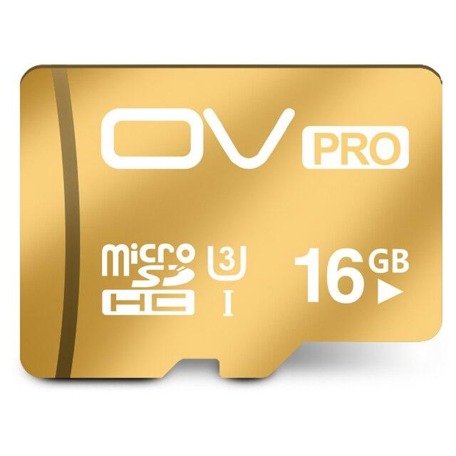 100% Первоначально Неподдельный OV Extreme PRO Micro SD SDHC Class 10 U3 уровень 60 МБ/С. 400X16 ГБ 32 ГБ 64 ГБ Поддержка Официальная проверки