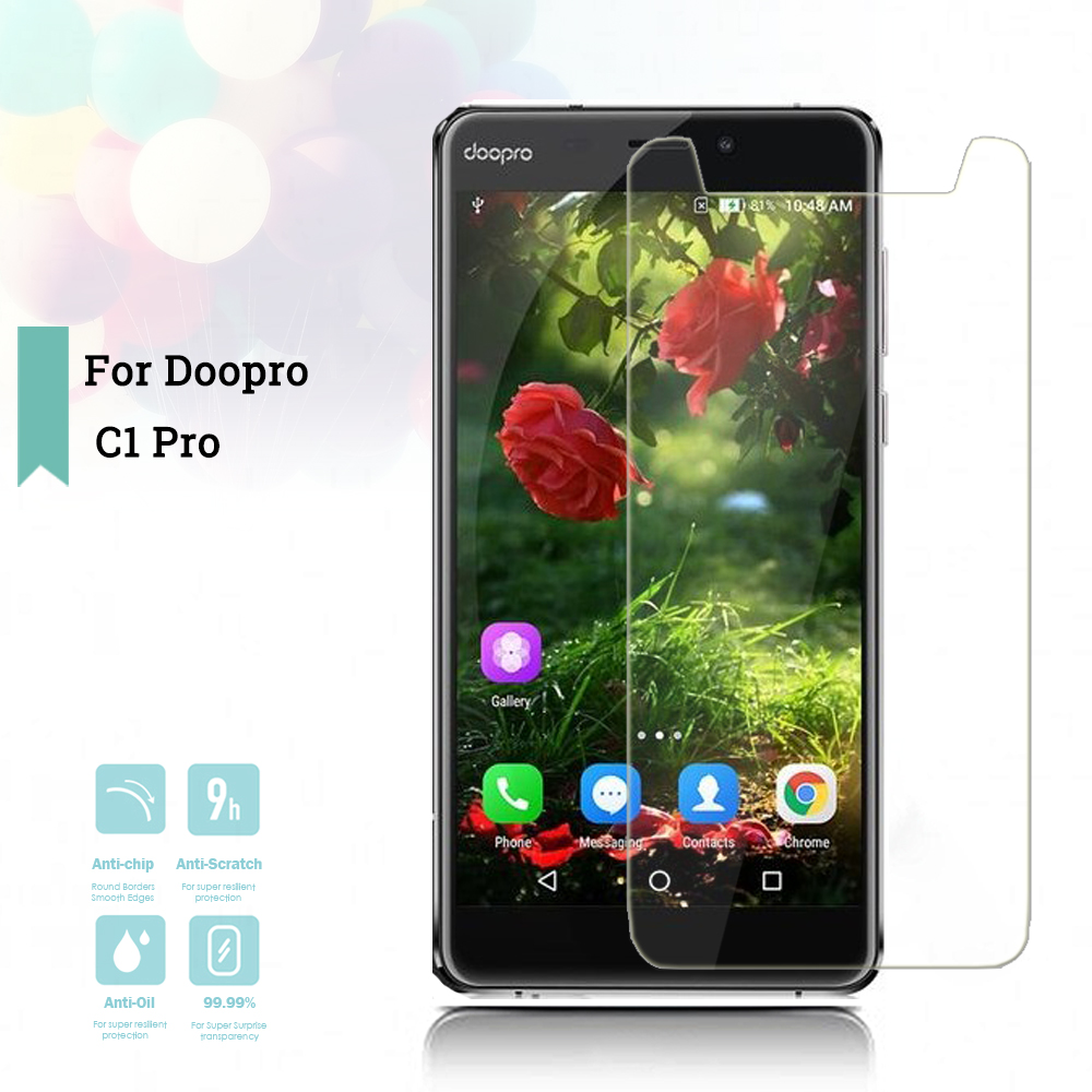 2 5D 0 26mm Ultra Thin Tempered Glass Doopro C1 Pro Toughened Screen Protector Film Protective Screen Case Universal in Phone Screen Protectors from Cellphones Telecommunications