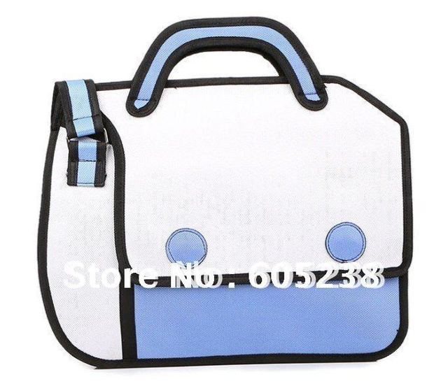 New Arrival FASHION 2012 Comic Cartoon 3D Shoulder Messenger Bag Gismo Cartoon Bag