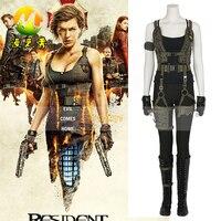 Resident Evil Son Bölümde Alicia Marcus Cosplay Cadılar Bayramı Kostüm Yetişkin Kadın fantasia için Parti Set tam boy (Özelleştirilmiş